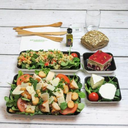 plateau-repas-salade-césar
